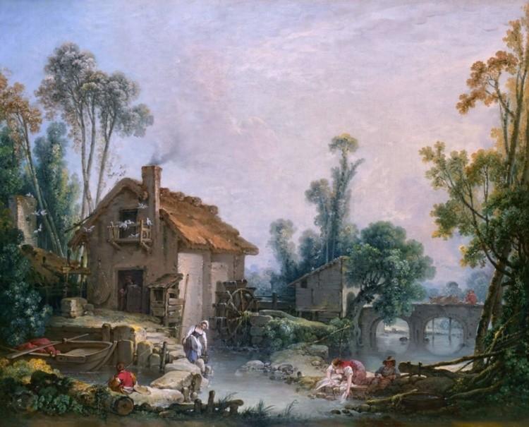 художник Франсуа Буше (Francois Boucher) картины – 17