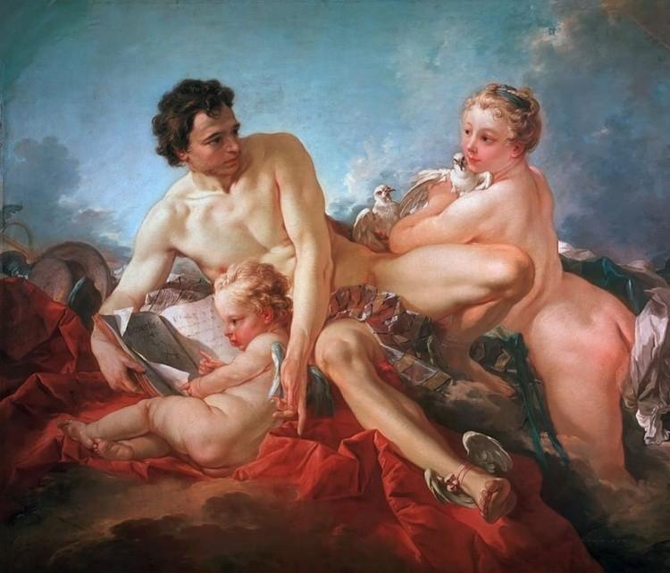 художник Франсуа Буше (Francois Boucher) картины – 18