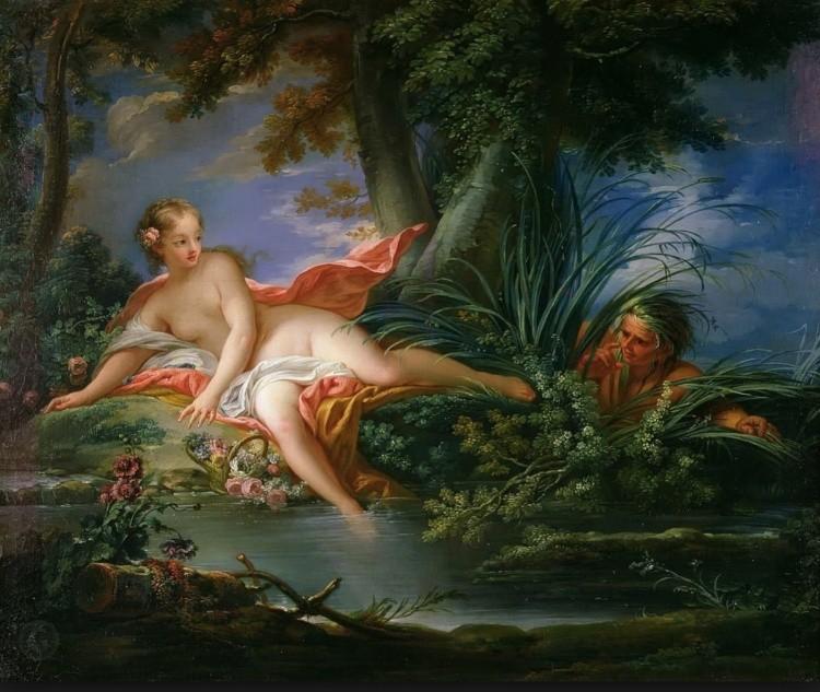 художник Франсуа Буше (Francois Boucher) картины – 21