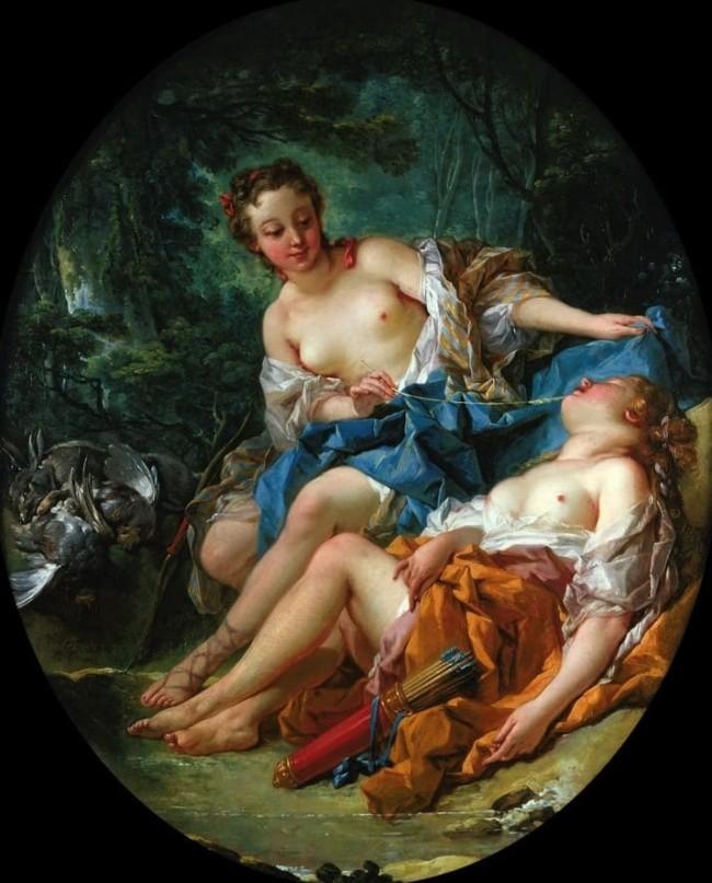 художник Франсуа Буше (Francois Boucher) картины – 22
