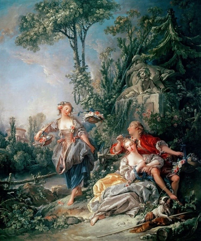 художник Франсуа Буше (Francois Boucher) картины – 23