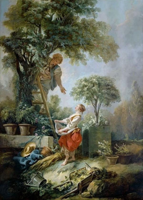 художник Франсуа Буше (Francois Boucher) картины – 24