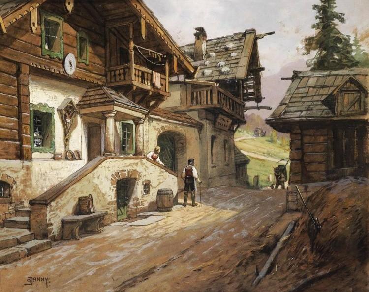 художник Georg Janny (Георг Джанни) картины – 01