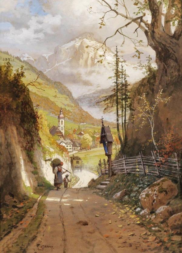художник Georg Janny (Георг Джанни) картины – 24