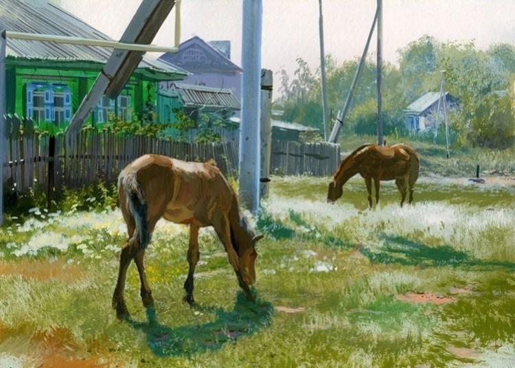 художник Григорий Лозинский картины – 05
