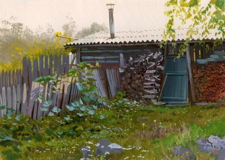 художник Григорий Лозинский картины – 13
