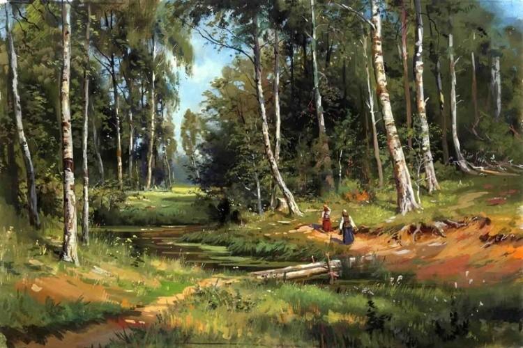 художник Григорий Лозинский картины – 14