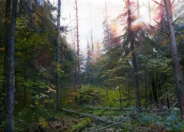 художник Григорий Лозинский картины – 16