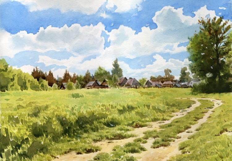 художник Григорий Лозинский картины – 24