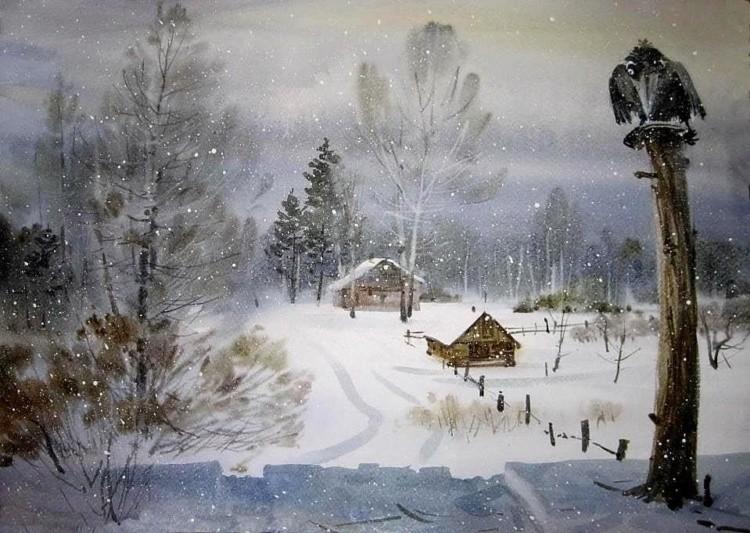 художник Илья Горгоц картины – 04