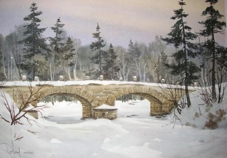 художник Илья Горгоц картины – 05