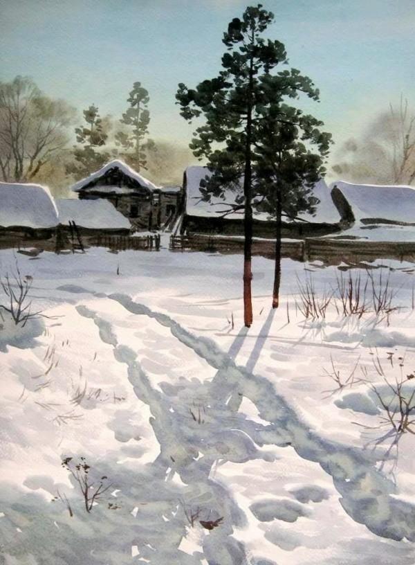 художник Илья Горгоц картины – 14