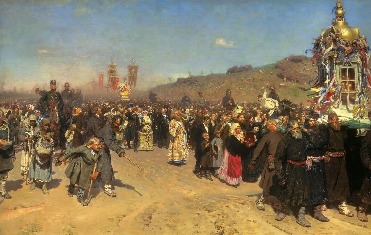 Художник Илья Репин (1844 — 1930)