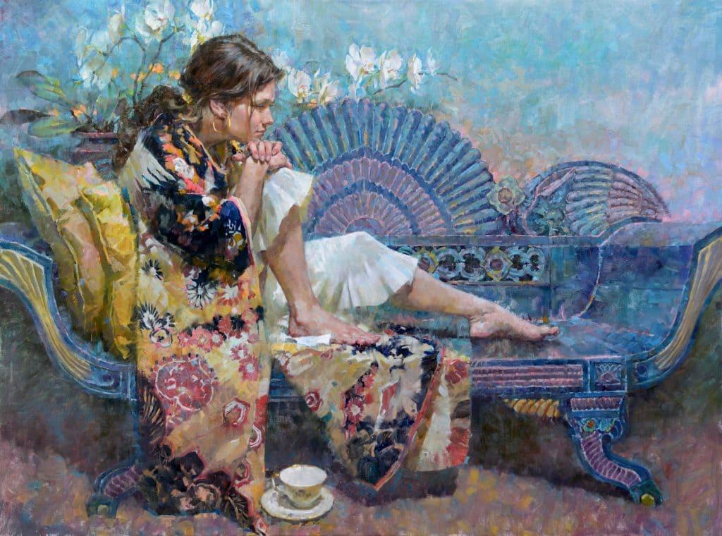 Американский художник-импрессионист John Michael Carter