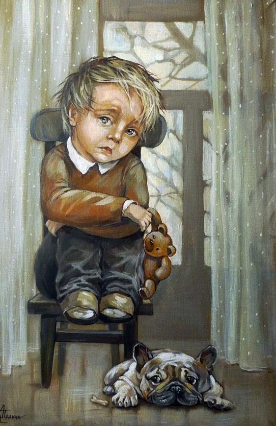 художник Кира Панина картины – 26