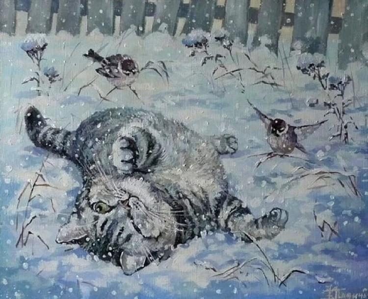 художник Кира Панина картины – 34
