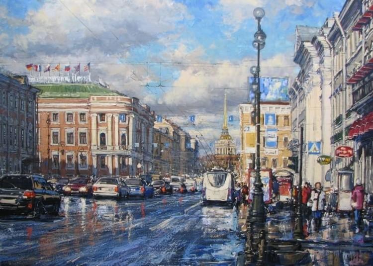 художник Кирилл Мальков картины – 13