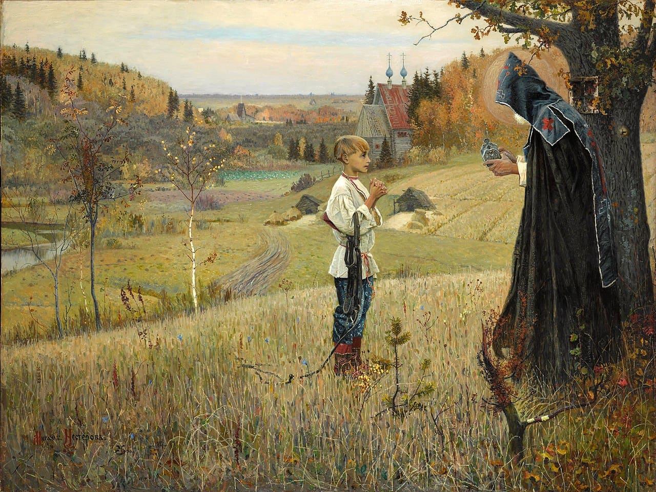 Художник Михаил Васильевич Нестеров (1862 — 1942). Душа народа