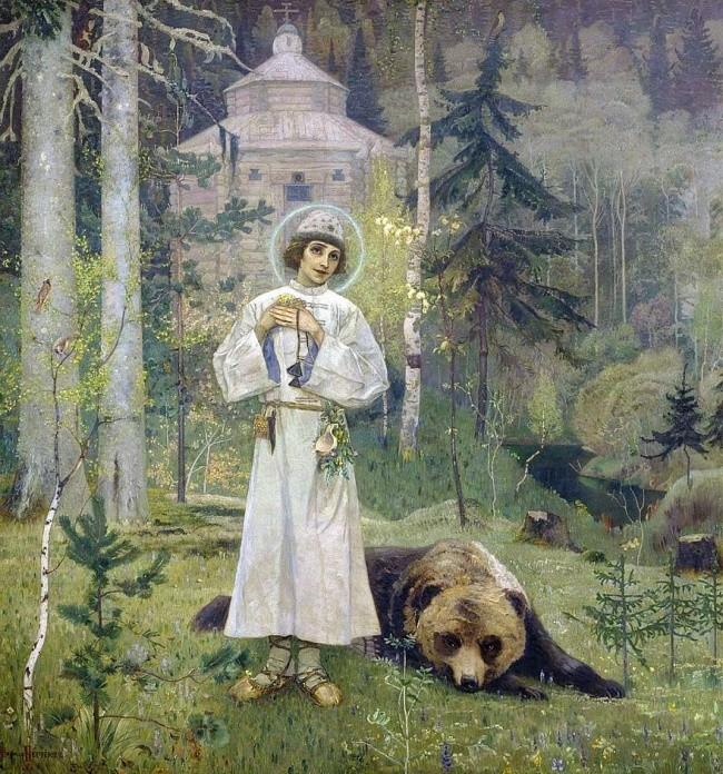 художник Михаил Нестеров картины – 24
