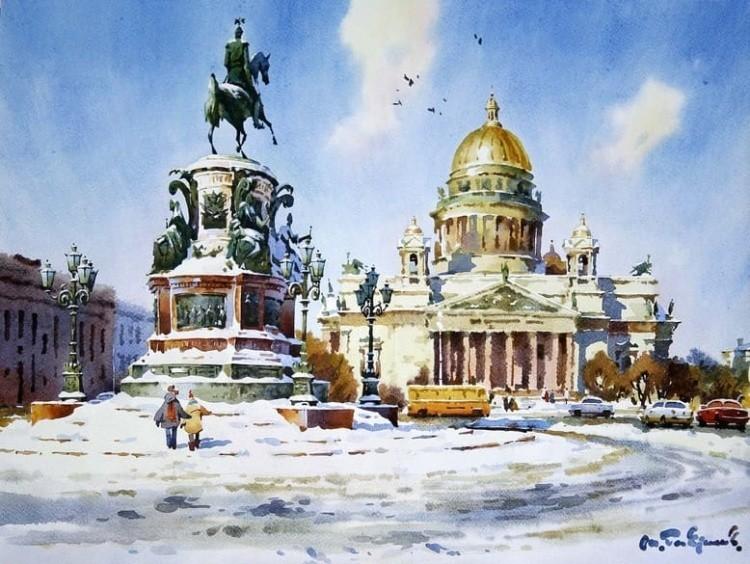 художник Модест Гаврилов (Modest Gavrilov) картины – 03