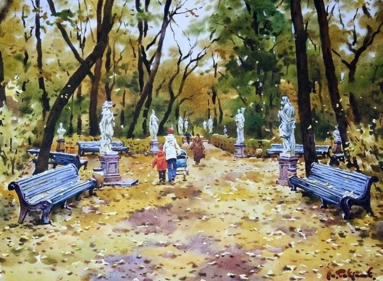 художник Модест Гаврилов (Modest Gavrilov) картины – 04