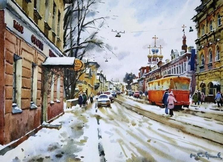 художник Модест Гаврилов (Modest Gavrilov) картины – 06