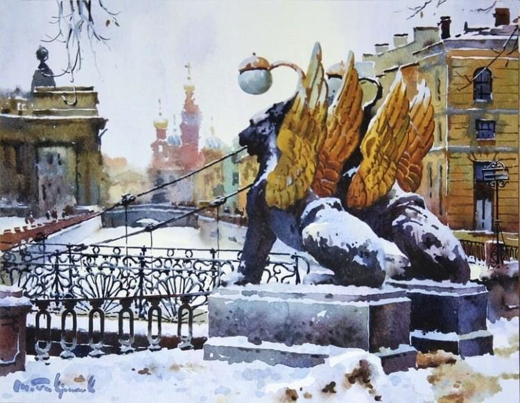 художник Модест Гаврилов (Modest Gavrilov) картины – 07