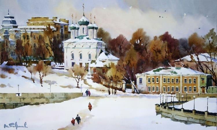 художник Модест Гаврилов (Modest Gavrilov) картины – 08