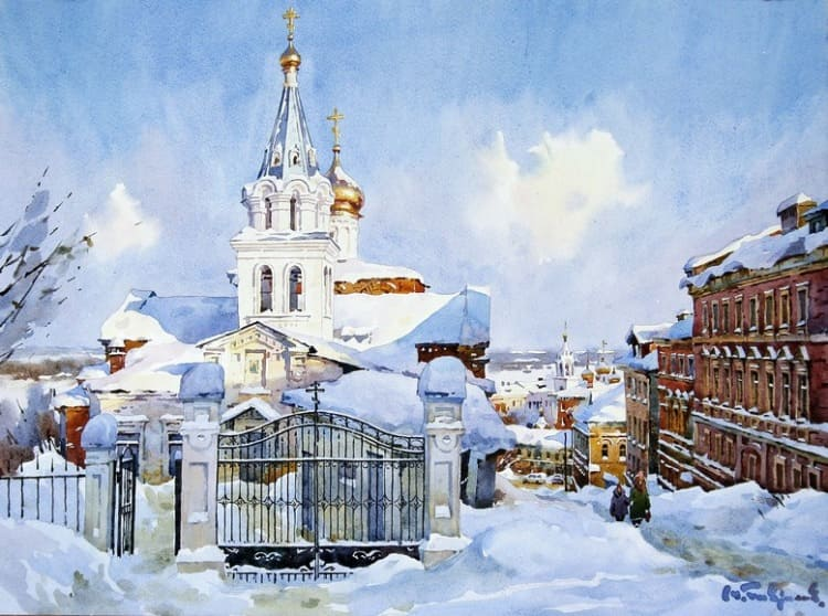 художник Модест Гаврилов (Modest Gavrilov) картины – 10