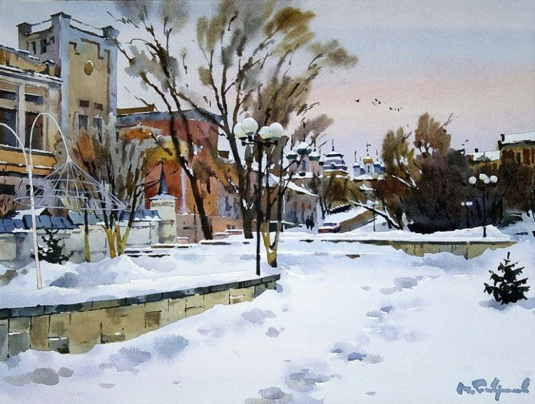 художник Модест Гаврилов (Modest Gavrilov) картины – 14