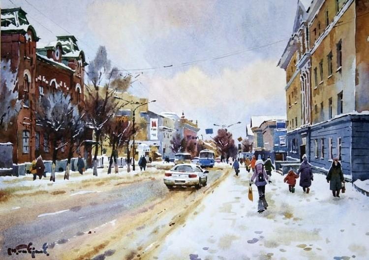 художник Модест Гаврилов (Modest Gavrilov) картины – 15