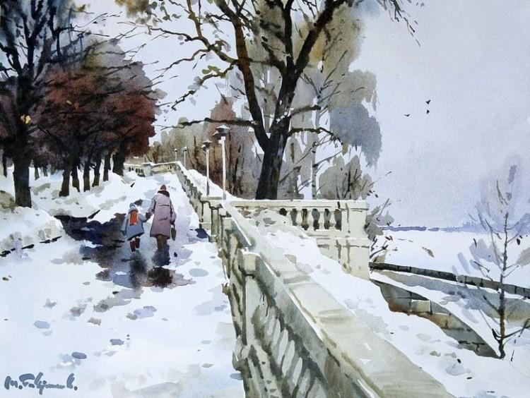 художник Модест Гаврилов (Modest Gavrilov) картины – 17