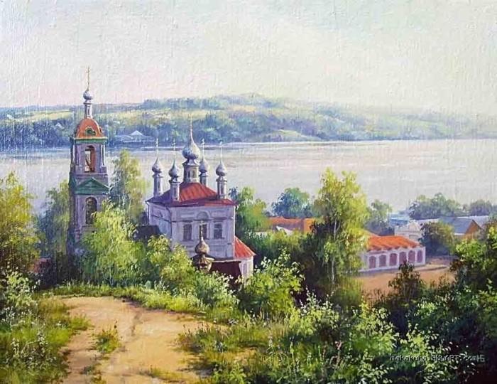 художник Николай Бусыгин картины – 07