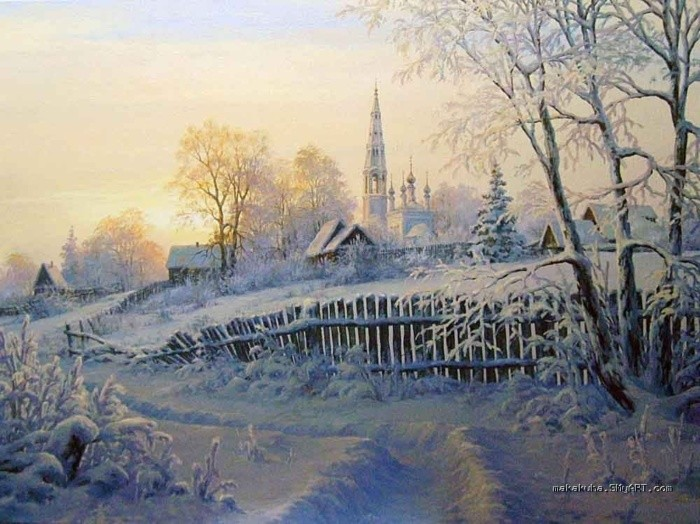 художник Николай Бусыгин картины – 11