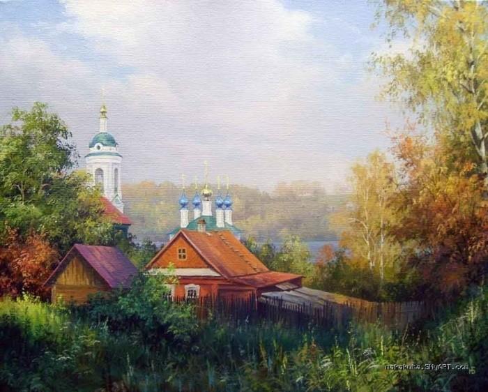художник Николай Бусыгин картины – 12