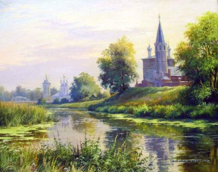 художник Николай Бусыгин картины – 13