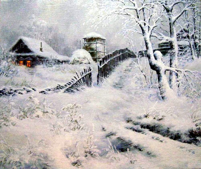 художник Николай Бусыгин картины – 22
