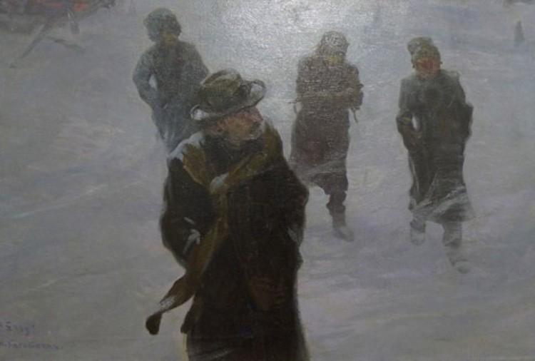 художник Николай Касаткин картины – 02