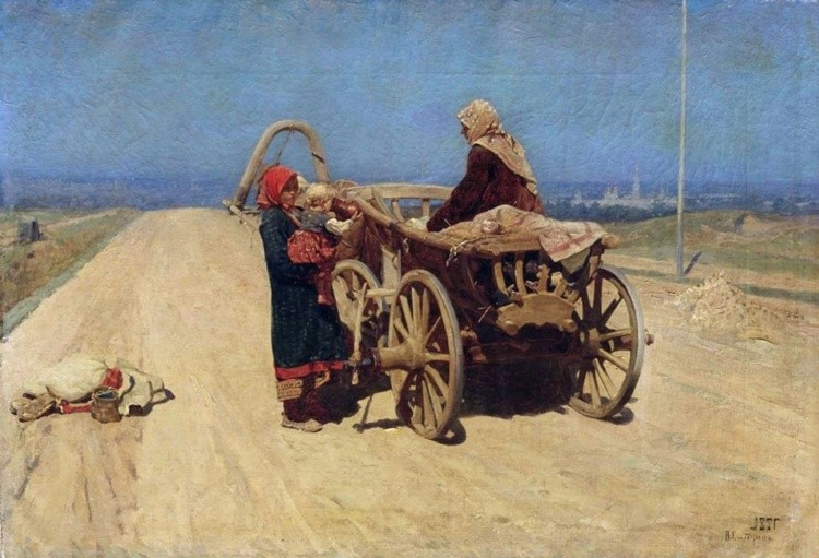 художник Николай Касаткин картины – 04