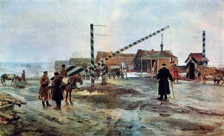 художник Николай Касаткин картины – 11