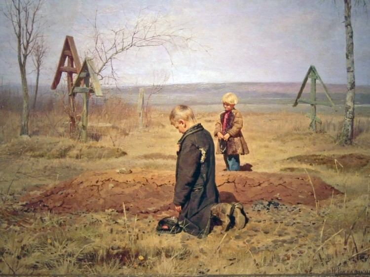 художник Николай Касаткин картины – 14