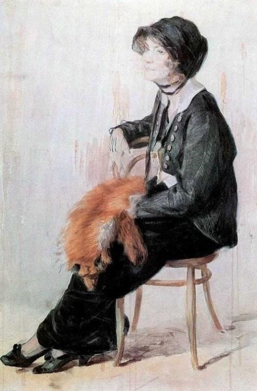 художник Николай Касаткин картины – 19