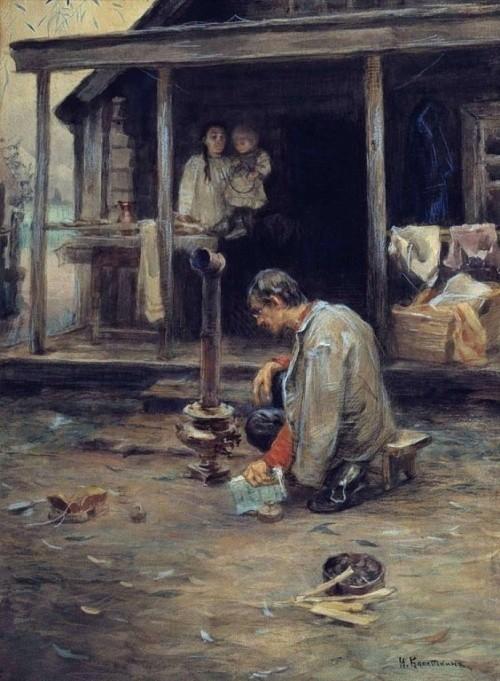 художник Николай Касаткин картины – 23