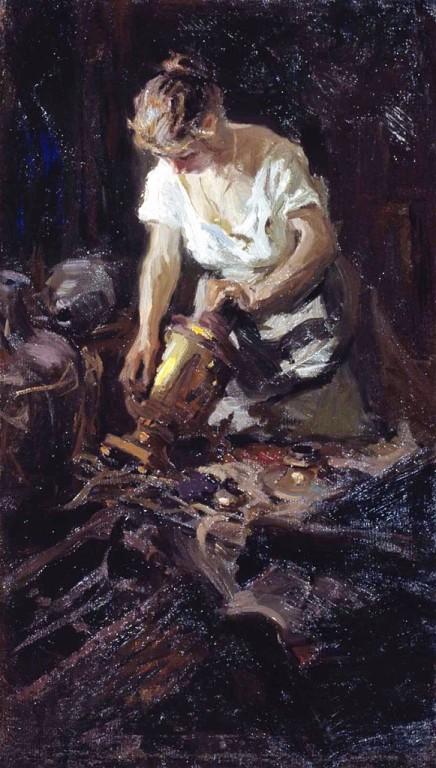 художник Николай Касаткин картины – 26