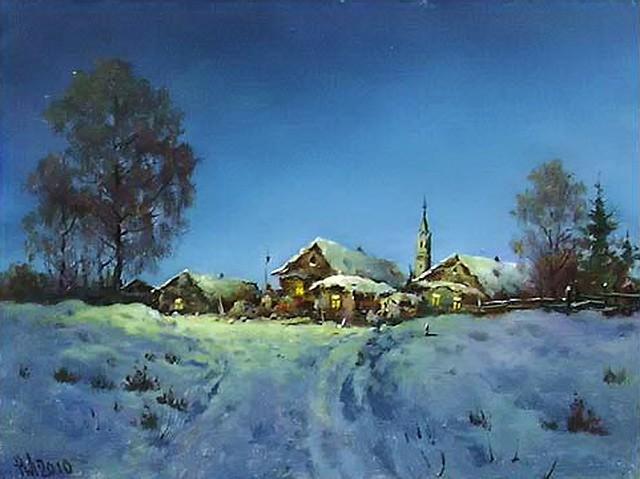 художник Николай Луговенко (Lugovenko Nicholas) картины – 05