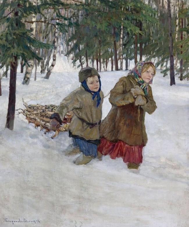 художник Николай Богданов – Бельский картины – 04