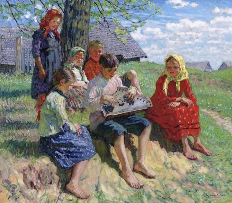 художник Николай Богданов – Бельский картины – 17