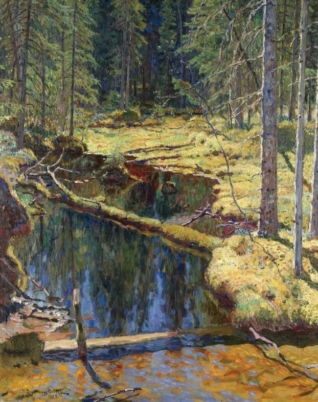 художник Николай Богданов – Бельский картины – 19