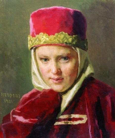 художник Николай Неврев картины – 20