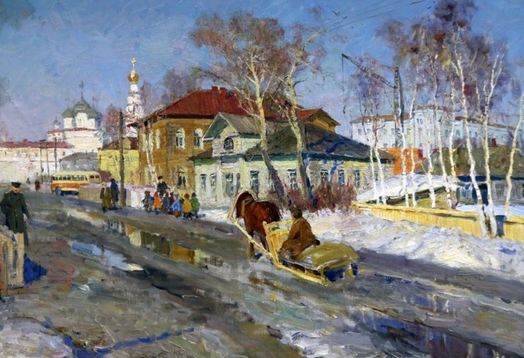 художник Олег Бороздин картины – 08